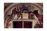 The Mass at Bolsena, 1512 Giclee Print by  Raphael