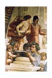 L'école d'Athènes, 1509 Impression giclée par  Raphael