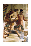 The School of Athens, 1509 Giclee Print by  Raphael