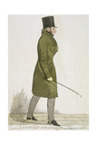 A Princely Ambassador, 1822 Giclee Print by Richard Dighton
