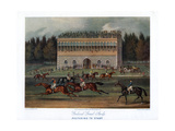 Goodwood Grand Stand, Preparing to Start, 1836 Giclee Print by RG Reeve
