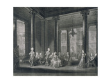 Interior of the Pantheon, Oxford Street, Westminster, London, 1772 Giclee Print by Richard Earlom