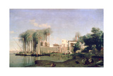 Beni Suef on the Nile, 19th Century Giclee Print by Prosper Georges Antoine Marilhat