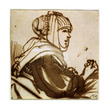 Saskia, 1633-1634 Giclee Print by  Rembrandt van Rijn