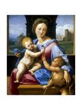 The Madonna and Child with the Infant Baptist' ('The Garvagh Madonna), C1509-1510 Reproduction procédé giclée par  Raphael