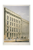 View of the Ocean Insurance Company's Offices, Old Broad Street, City of London, 1864 Lámina giclée por Robert Dudley