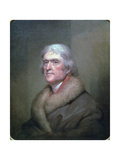 Thomas Jefferson, 1805 Giclee Print by Rembrandt Peale