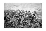 Battle of Majuba Hill, 1st Boer War, 26-27 February 1881 Giclee Print by Richard Caton Woodville II