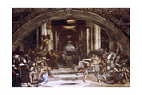 The Expulsion of Heliodorus from the Temple, 1512-1514 Giclee Print by  Raphael