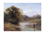 A Sylvan Stream, 19th Century Giclee Print by Thomas Creswick