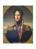 Portrait of General Pyotr Chicherin, 1814 Giclee Print by Robert Lefevre