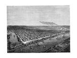 Sacramento, California, 1859 Giclee Print by Regis Francois Gignoux