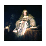 Artemisia, 1634 Giclee Print by  Rembrandt van Rijn