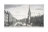 St Mary-Le-Bow, London, 1757 Giclee Print by Thomas Bowles