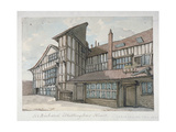 Sir Richard Whittington's House, Milton Street, City of London, 1800 Giclee Print by Samuel Ireland