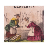 Mackarel!, Cries of London, C1840 Giclee Print by TH Jones