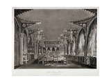 Interior View of the Gothic Dining Room in Carlton House, Westminster, London, 1819 Giclee Print by Thomas Sutherland