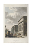 View of Old Bailey, Looking North, City of London, 1814 Giclee Print by Rudolph Ackermann
