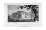 York House and Green Park, Westminster, London, C1800 Giclee Print by Samuel Rawle