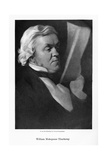 William Makepeace Thackeray, English Novelist, C1864 Giclee Print by Samuel Laurence
