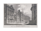 St Paul's School, London, 1807 Giclee Print by Samuel Rawle