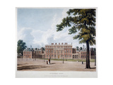 Buckingham House, Westminster, London, 1819 Giclee Print by Thomas Sutherland