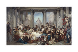 The Romans of the Decadence, 1847 Giclee Print by Thomas Couture