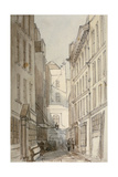 Change Alley, City of London, 1850 Giclee Print by Thomas Colman Dibdin