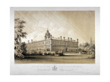 The Royal Naval School at New Cross, Lewisham, London, C1870 Giclee Print by Thomas Talbot Bury