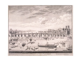 Westminster Bridge, 1747 Giclee Print by Samuel Wale