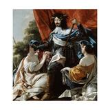Louis XIII, 17th Century Giclée-Druck von Simon Vouet