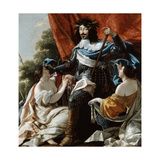 Louis XIII, 17th Century Giclee Print by Simon Vouet