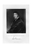 William Lamb (1779-184), 2nd Viscount Melbourne, 1836 Giclee Print by Samuel Freeman