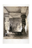 Kannari, Interior of a Small Vihara, India, 1845 Giclee Print by Thomas Colman Dibdin