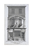 No 32 Cornhill, London, C1800 Giclee Print by Samuel Rawle