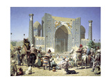 They are Triumphant, C1871-C1872 Giclée-Druck von Vasily Vereshchagin