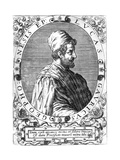 Lucas Gaurico, Italian Astronomer, Astrologer and Mathematician, 16th Century Giclee Print by Theodor de Bry