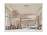 Interior of the Coachmakers' Hall, Noble Street, City of London, 1851 Giclee Print by Thomas Colman Dibdin