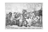 Wit's Last Stake..., 1784 Giclee Print by Thomas Rowlandson