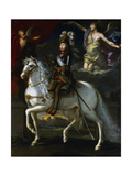 Louis XIV King of France, 1648 Giclée-Druck von Simon Vouet