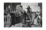 The Emperor Maximilian and Albrecht Durer, Early 16th Century Giclee Print by Thomas Brown
