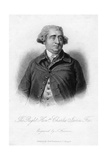 Charles James Fox (1749-180), Whig Statesman, 19th Century Giclee Print by Samuel Freeman