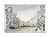 Bow Street, Westminster, London, 1851 Giclee Print by Thomas Colman Dibdin