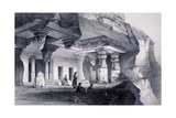 Ajunta (Si), Vihara Cave Number Seven Giclee Print by Thomas Colman Dibdin