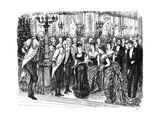 Awkward Incident in Fashionable Life, 1876 Giclee Print by  Swain