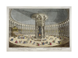 The Rotunda in Ranelagh Gardens, Chelsea, London, C1750 Giclee Print by Thomas Bowles