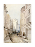 Paternoster Row, City of London, 1851 Giclee Print by Thomas Colman Dibdin