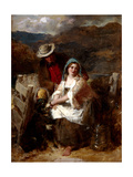 Too Young to Be Married, 1869 Giclee Print by Thomas Faed
