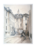 Austin Friars Street, City of London, 1851 Giclee Print by Thomas Colman Dibdin