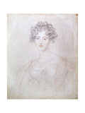 Portrait of Countess Elisabeth Vorontsova, 1821 Giclee Print by Thomas Lawrence